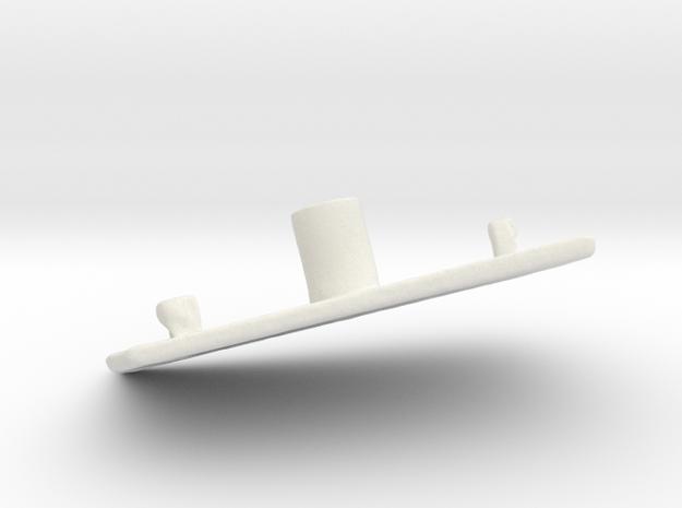 End Control 1409 - Cover in White Natural Versatile Plastic