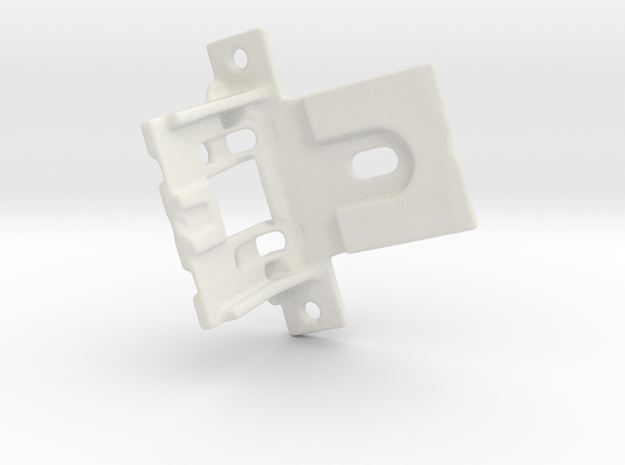 Shade Bracket 316 C in White Premium Versatile Plastic