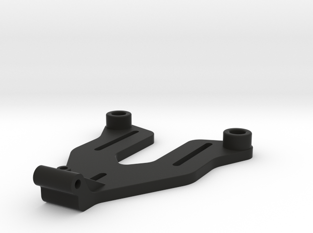22 4.0 and 22T 4.0 Long Battery Brace 18.5mm in Black Natural Versatile Plastic