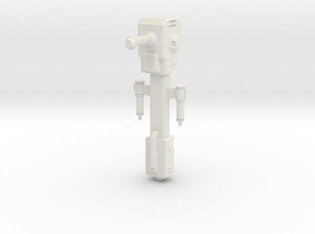 Gun 2 in White Natural Versatile Plastic