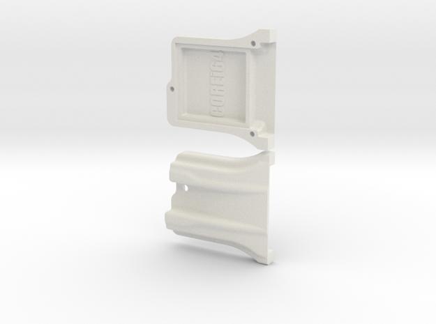 WiModem232 WiFi Modem Case in White Natural Versatile Plastic
