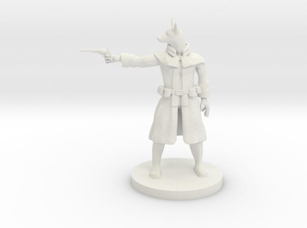 Son of Anubis Gunslinger in White Natural Versatile Plastic