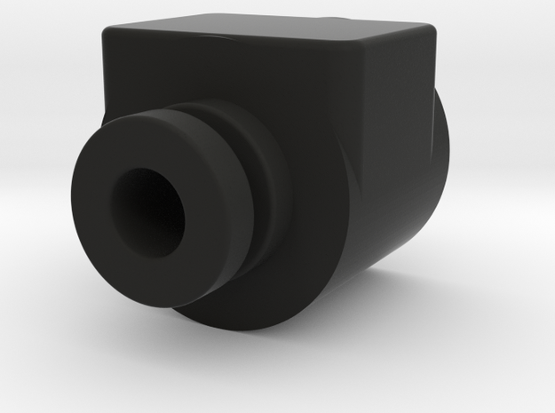 Simple DripTip Customisable Vaping in Black Natural Versatile Plastic