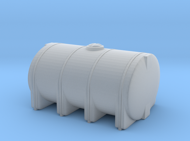 1/87th Ten foot long Poly type leg tank in Smooth Fine Detail Plastic