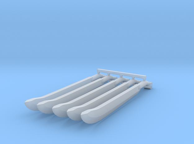 Machetes x5 in Smoothest Fine Detail Plastic