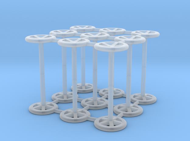 Handwheel in Smooth Fine Detail Plastic