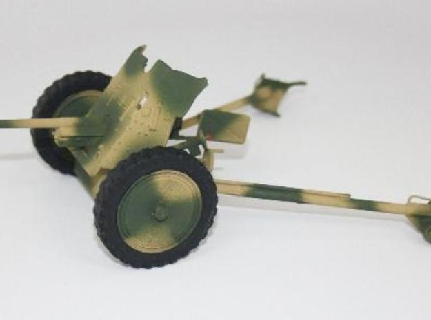 1:18 Pak 36 - 37mm German Anti-Tank Gun - v1 in White Natural Versatile Plastic
