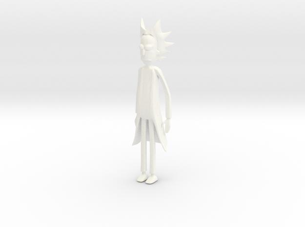 Rick in White Processed Versatile Plastic