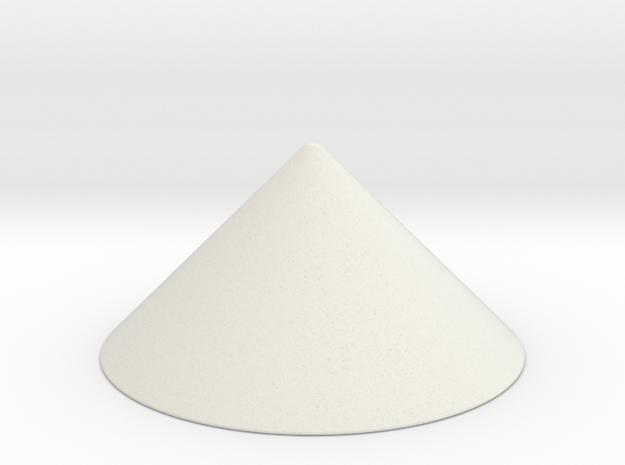 2x1 Spike in White Natural Versatile Plastic