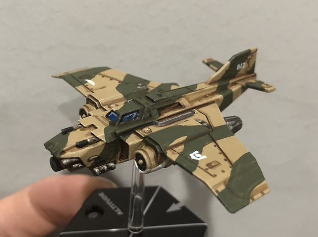 6mm Tempest MK1b in Smooth Fine Detail Plastic