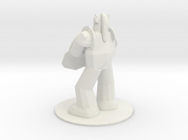 Armored Troll in White Natural Versatile Plastic