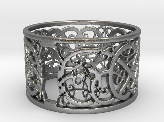Celt in Natural Silver