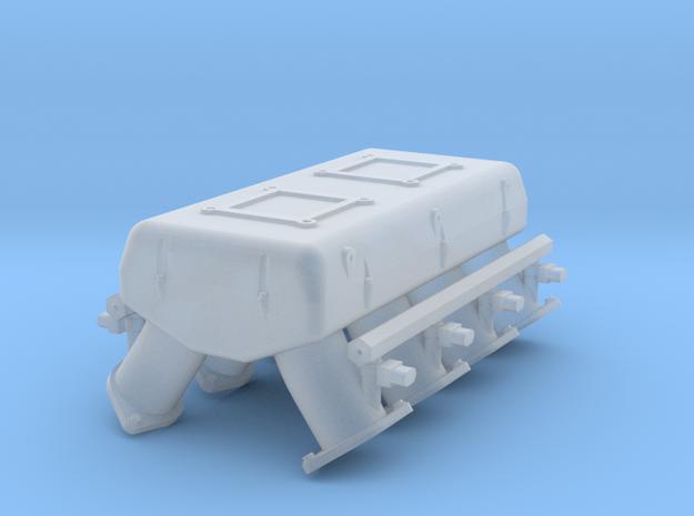 LS33 1/25 dual carb intake w/injectors