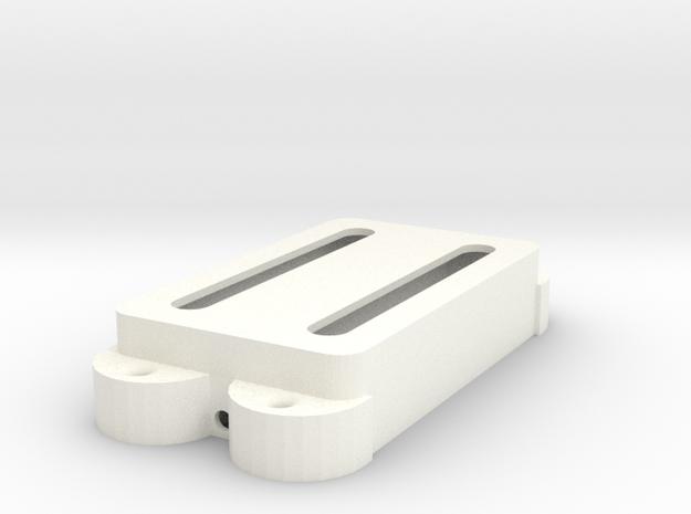 Jag PU Cover, Double, Open in White Processed Versatile Plastic