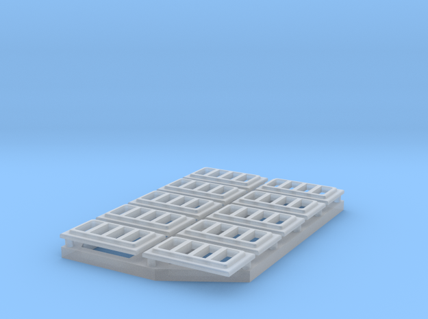 Dead Light Frames, DECK, Elco; multi scale in Smooth Fine Detail Plastic: 1:20