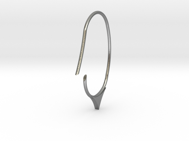 Hoop small size (SWH7a) in Natural Silver
