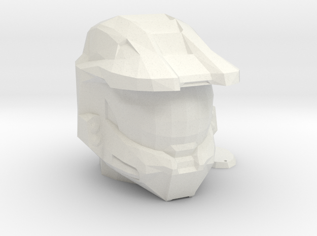 Halo Inspired Master Chief Helmet Piggy Bank in White Strong & Flexible