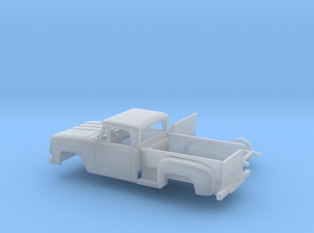 1/160 1966/67 Dodge PowerWagon Reg.Cab Sepside Kit in Smooth Fine Detail Plastic
