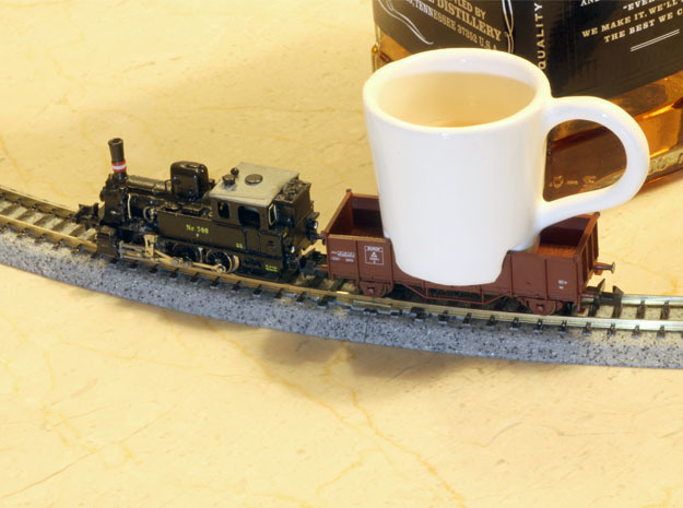 Cup for N scale trains