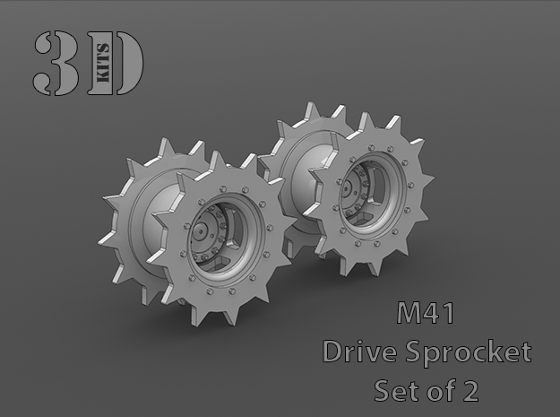 M41 Sprocket Set in Smoothest Fine Detail Plastic