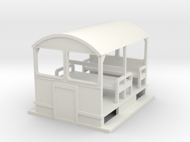 w-76-wickham-trolley in White Strong & Flexible