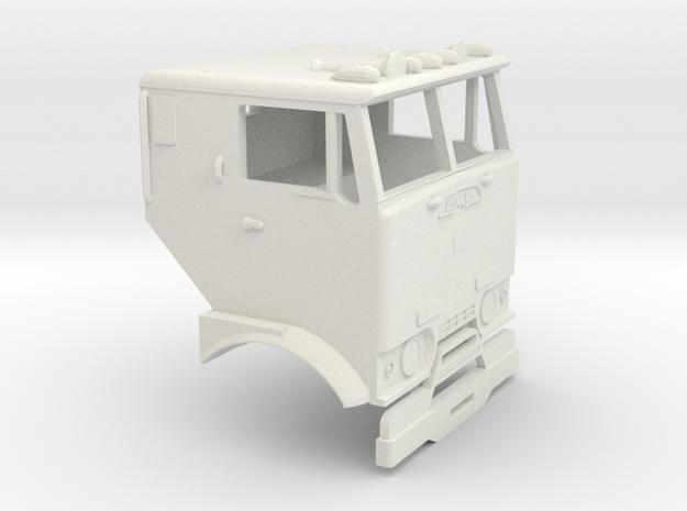 1/32 GMC Crackerbox Cab in White Natural Versatile Plastic