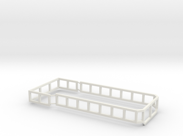 AS18 Silage Racks  in White Natural Versatile Plastic