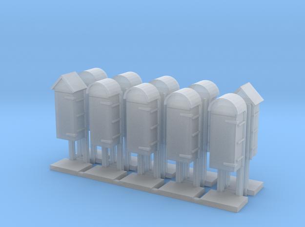 LU isolation cabinets x 10