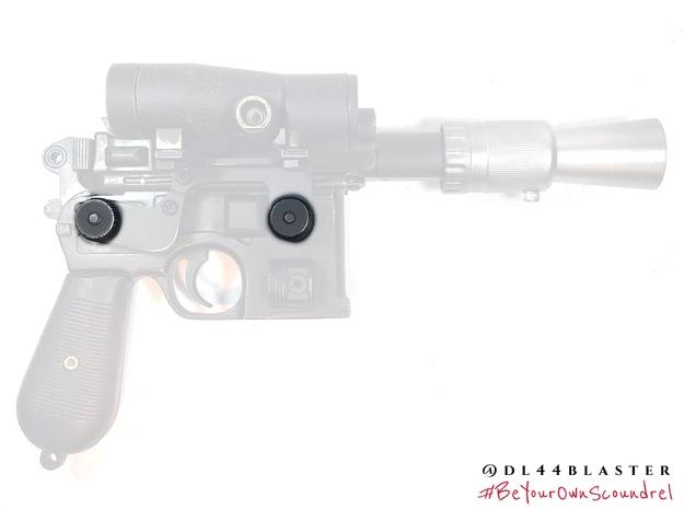 Scope mount screws in White Processed Versatile Plastic