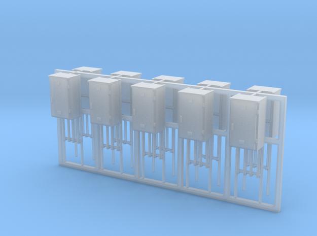 SJ Signalverteiler 1Türig rechtsanschlag 10erSet - in Smooth Fine Detail Plastic