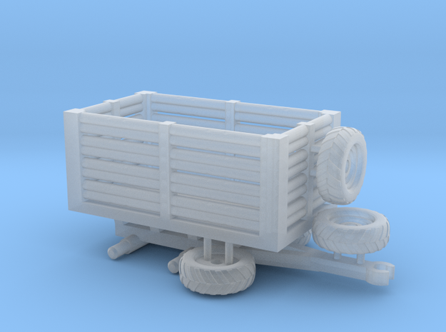 N Gauge Tractor Trailer B in Smooth Fine Detail Plastic