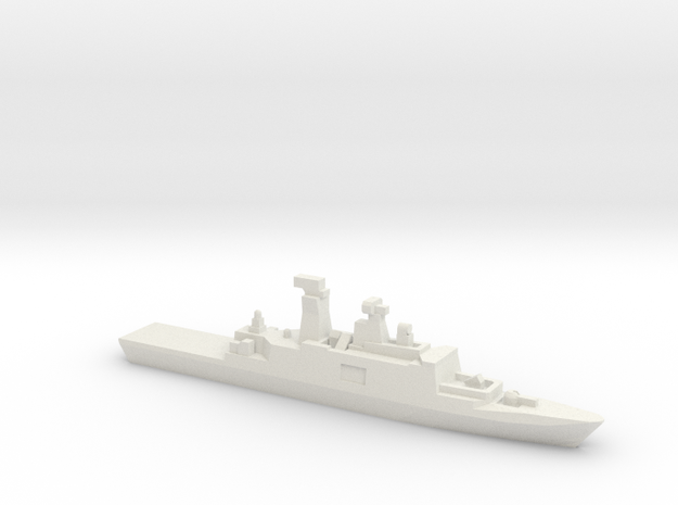 Kang Ding-Class Frigate, 1/3000 in White Natural Versatile Plastic