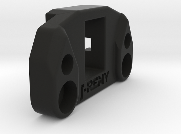 B6 B6D Rear Anti-Roll/Sway Bar Mount Associated in Black Natural Versatile Plastic