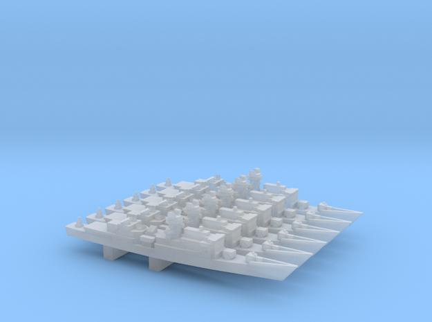 Chi Yang-class Frigate x 6, 1/6000