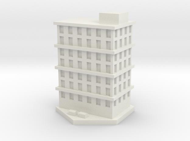 Bloque pisos 3 in White Natural Versatile Plastic