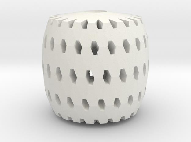 Polar Lamp Pendant I in White Natural Versatile Plastic