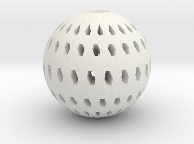 Polar Lamp Pendant III in White Natural Versatile Plastic