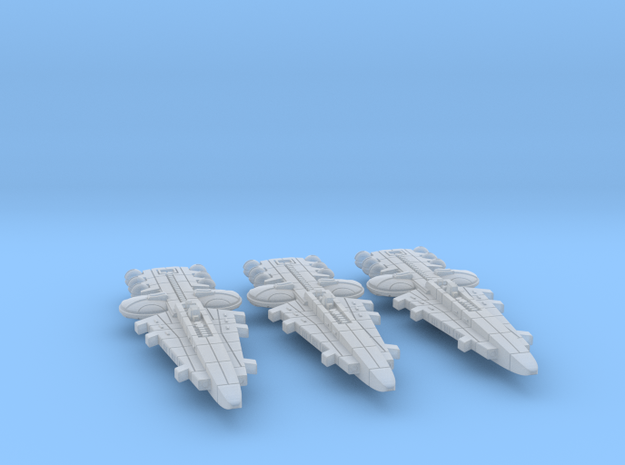 Orion (KON) Battleship Datagroup in Smooth Fine Detail Plastic