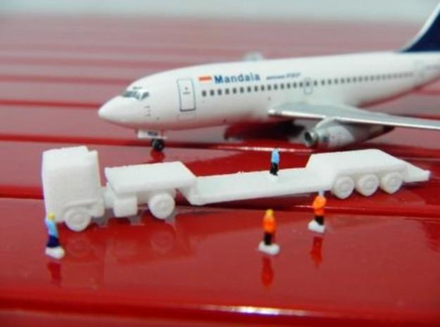 AIrport GSE 1:400 Truck Trailer Lowbed 3d printed