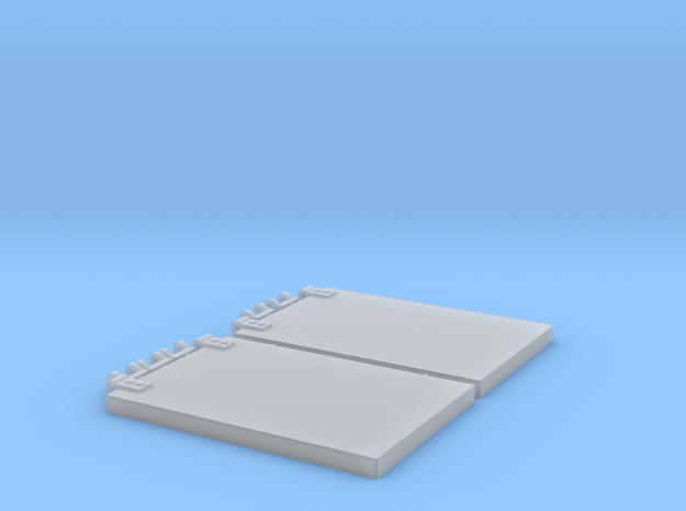 1/16 Panther Rear Storage Hatches in Smooth Fine Detail Plastic