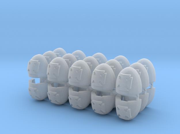 Elites Mk5 Shoulder Pads x30 in Smooth Fine Detail Plastic