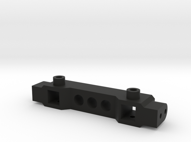 TRX4 Bumper Mount ZeroH ZeroV in Black Strong & Flexible