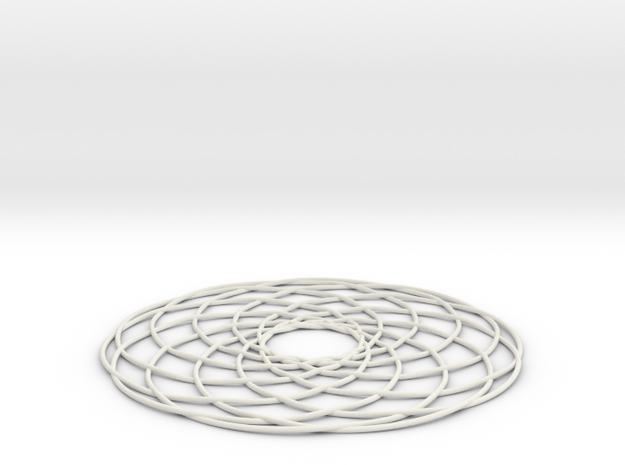 knot-100-1 in White Natural Versatile Plastic