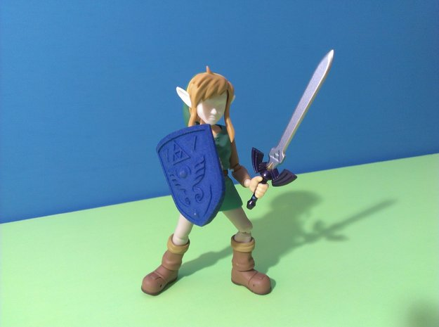 Link to the Past Shield for Figma