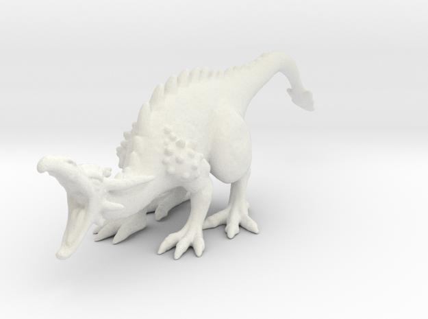 Dragonroar_Allmats in White Natural Versatile Plastic
