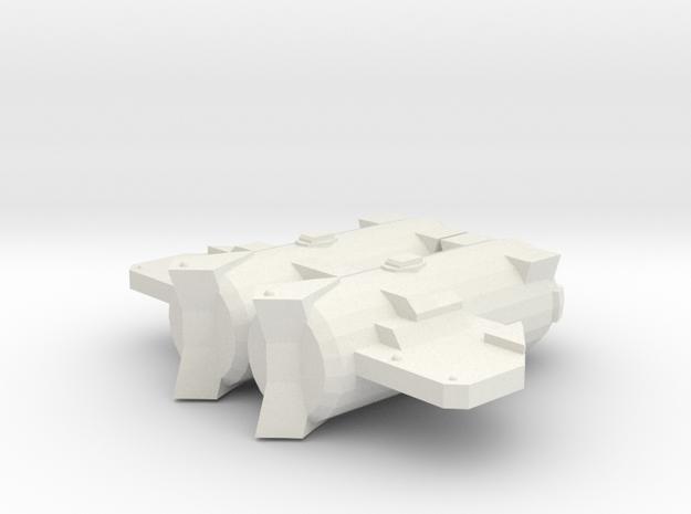 3125 Scale Probr Medium Cruiser (CM) MGL in White Natural Versatile Plastic