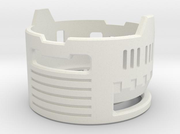 Graflex Mentor - Var1 Part10 - Gen Gate 2 in White Natural Versatile Plastic