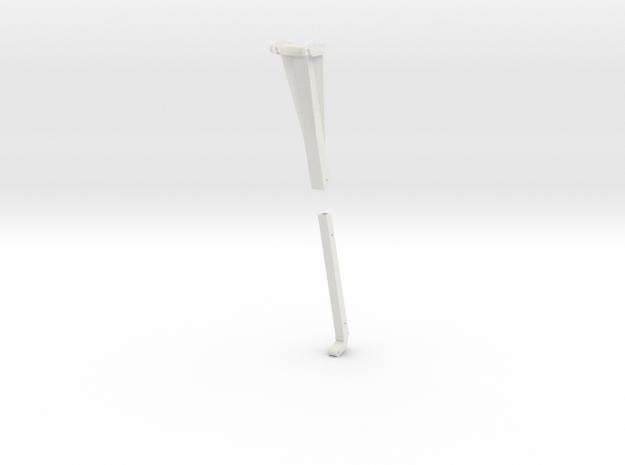 hijsjib 3D in White Natural Versatile Plastic