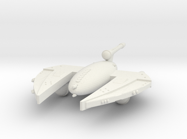 3788 Scale Drex Dreadnought (DN) MGL in White Natural Versatile Plastic