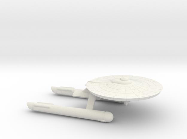 3125 Scale Franz Joseph Federation Tug (No Pods) in White Natural Versatile Plastic